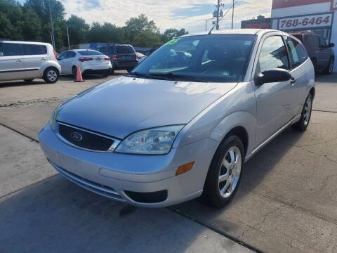 2005 Ford Focus for sale at Quallys Auto Sales in Olathe KS