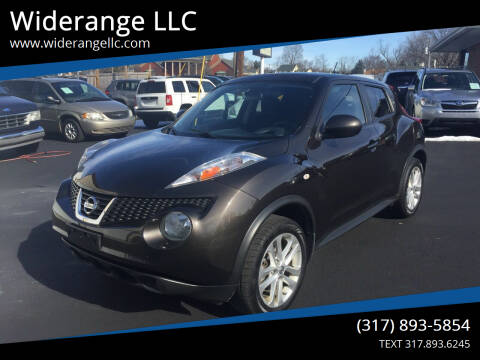 2013 Nissan JUKE for sale at Widerange LLC in Greenwood IN