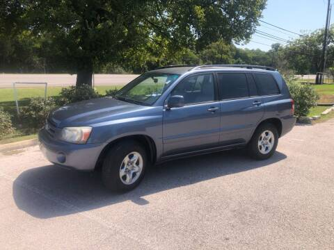 2004 Toyota Highlander for sale at Discount Auto in Austin TX