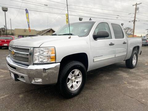 2012 Chevrolet Silverado 1500 for sale at Universal Auto INC in Salem OR