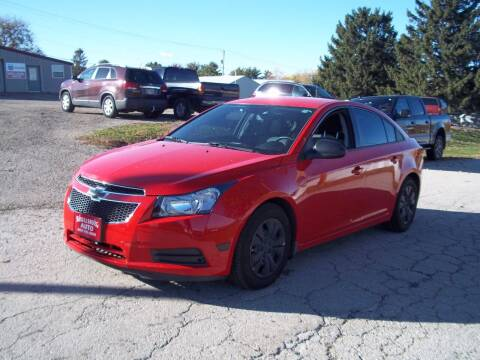 2014 Chevrolet Cruze for sale at SHULLSBURG AUTO in Shullsburg WI