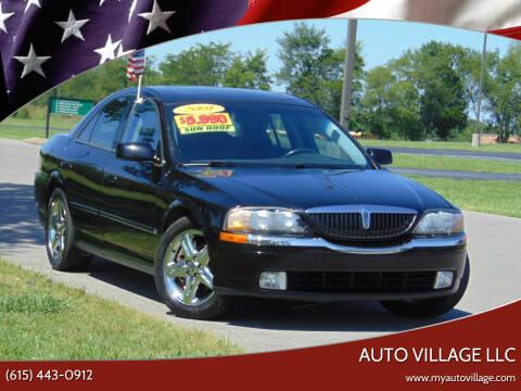 2001 Lincoln LS for sale at AUTO VILLAGE LLC in Lebanon TN