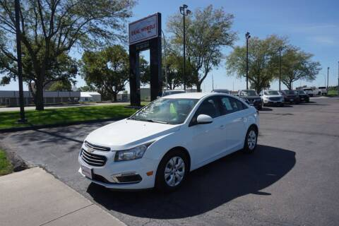 2015 Chevrolet Cruze for sale at Ideal Wheels in Sioux City IA