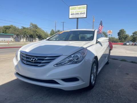 2014 Hyundai Sonata for sale at Shock Motors in Garland TX