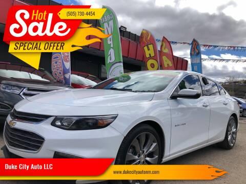 2017 Chevrolet Malibu for sale at Duke City Auto LLC in Gallup NM