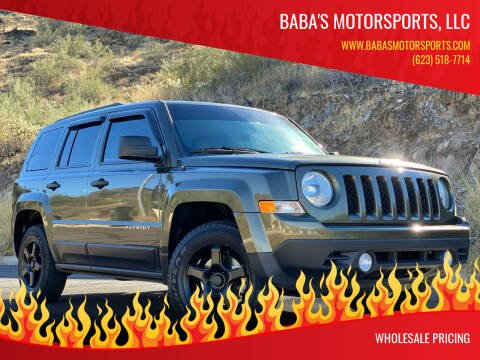 2015 Jeep Patriot for sale at Baba's Motorsports, LLC in Phoenix AZ