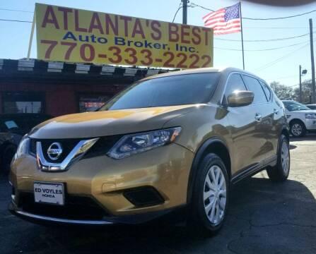 2014 Nissan Rogue for sale at Atlanta's Best Auto Brokers in Marietta GA