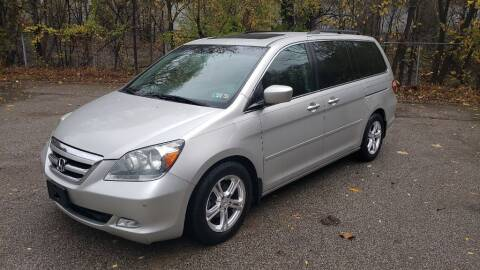 2005 Honda Odyssey for sale at Seran Auto Sales LLC in Pittsburgh PA