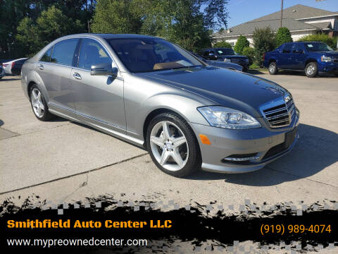 2011 Mercedes-Benz S-Class for sale at Smithfield Auto Center LLC in Smithfield NC