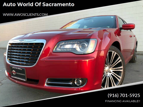 2013 Chrysler 300 for sale at Auto World of Sacramento Stockton Blvd in Sacramento CA