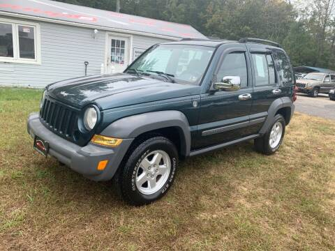 2005 Jeep Liberty for sale at Manny's Auto Sales in Winslow NJ