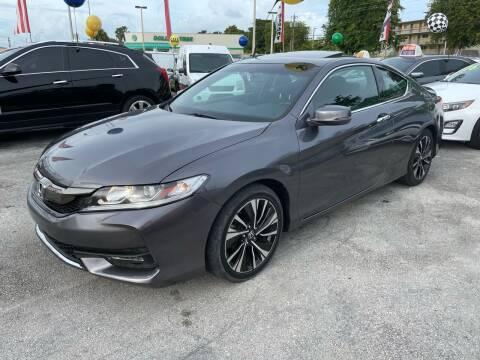 2017 Honda Accord for sale at D & P OF MIAMI CORP in Miami FL