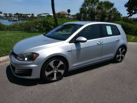 2015 Volkswagen Golf GTI for sale at GulfCoast Motorsports in Osprey FL