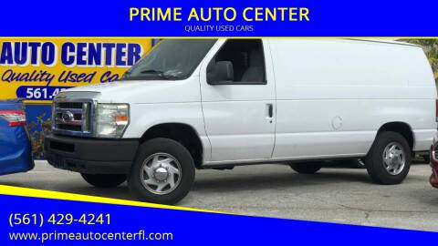 2010 Ford E-Series Cargo for sale at PRIME AUTO CENTER in Palm Springs FL