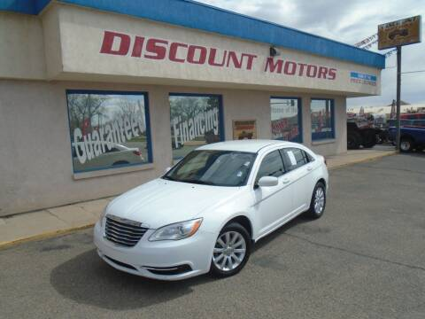 2011 Chrysler 200 for sale at Discount Motors in Pueblo CO