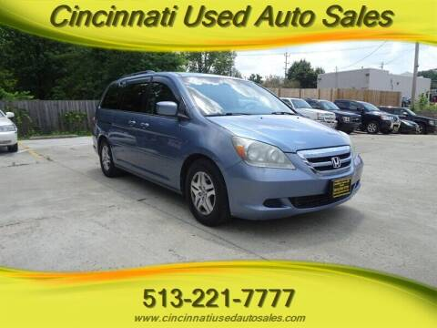 2007 Honda Odyssey for sale at Cincinnati Used Auto Sales in Cincinnati OH