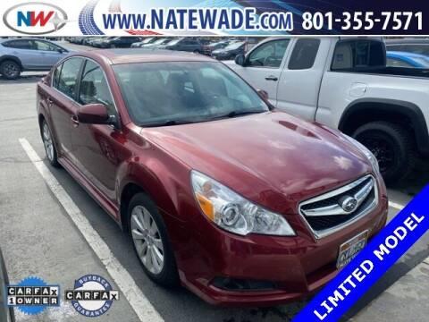 2012 Subaru Legacy for sale at NATE WADE SUBARU in Salt Lake City UT