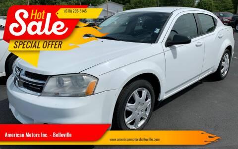 2011 Dodge Avenger for sale at American Motors Inc. - Belleville in Belleville IL