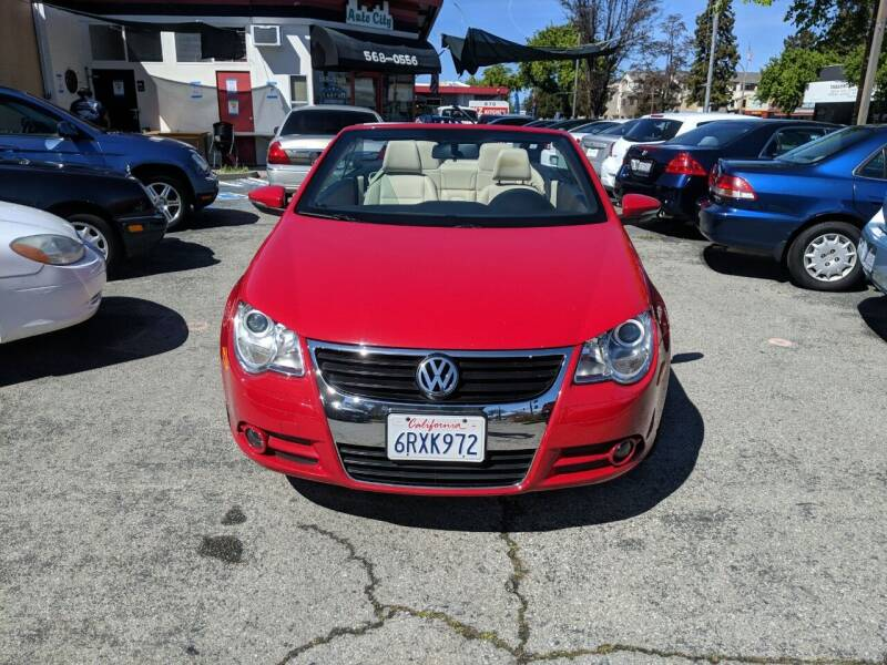 2011 Volkswagen Eos for sale at Auto City in Redwood City CA