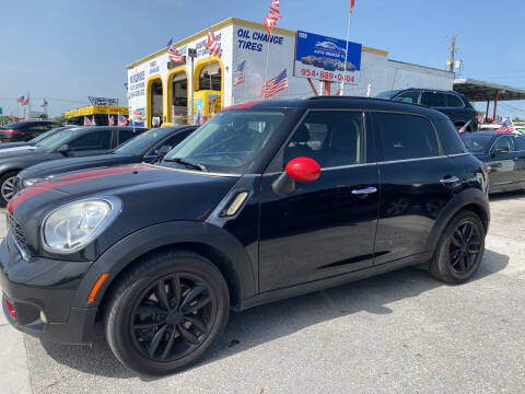 2012 MINI Cooper Countryman for sale at INTERNATIONAL AUTO BROKERS INC in Hollywood FL