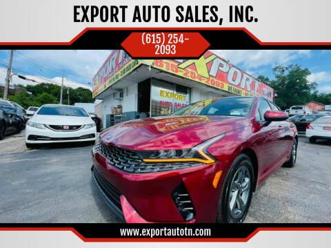 2021 Kia K5 for sale at EXPORT AUTO SALES, INC. in Nashville TN