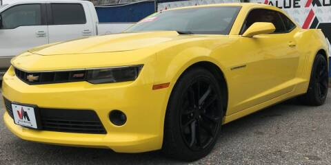 2015 Chevrolet Camaro for sale at Value Motors Company in Marrero LA