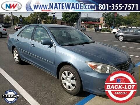 2003 Toyota Camry for sale at NATE WADE SUBARU in Salt Lake City UT