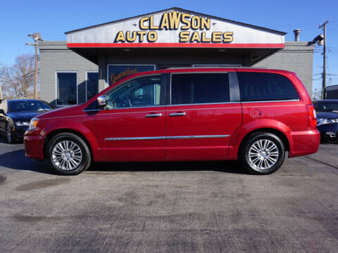 2015 Chrysler Town and Country for sale at Clawson Auto Sales in Clawson MI