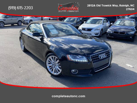 2012 Audi A5 for sale at Complete Auto Center , Inc in Raleigh NC
