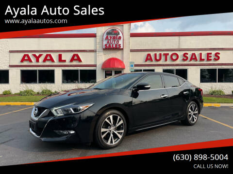 2017 Nissan Maxima for sale at Ayala Auto Sales in Aurora IL