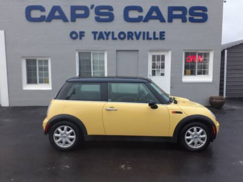 2004 MINI Cooper for sale at Caps Cars Of Taylorville in Taylorville IL