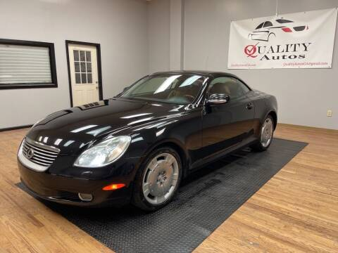 2003 Lexus SC 430 for sale at Quality Autos in Marietta GA