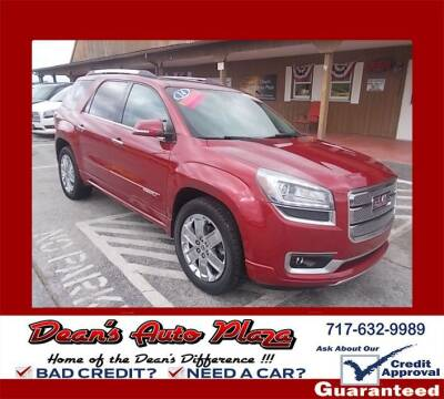 2014 GMC Acadia for sale at Dean's Auto Plaza in Hanover PA