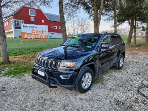 2017 Jeep Grand Cherokee for sale at Caulfields Family Auto Sales in Bath PA