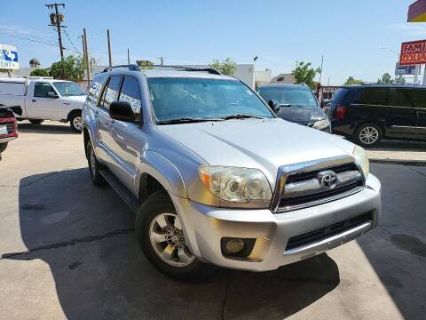 2006 Toyota 4Runner for sale at FM AUTO SALES in El Paso TX
