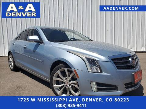 2013 Cadillac ATS for sale at A & A AUTO LLC in Denver CO