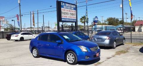 2011 Nissan Sentra for sale at S.A. BROADWAY MOTORS INC in San Antonio TX