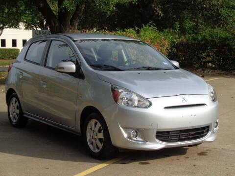 2015 Mitsubishi Mirage for sale at Auto Starlight in Dallas TX
