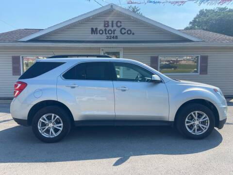 2016 Chevrolet Equinox for sale at Bic Motors in Jackson MO