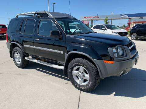 2002 Nissan Xterra for sale at Sportline Auto Center in Columbus NE