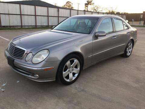 2004 Mercedes-Benz E-Class for sale at Safe Trip Auto Sales in Dallas TX