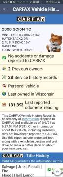 2008 Scion tC for sale at Advantage Auto Sales & Imports Inc in Loves Park IL