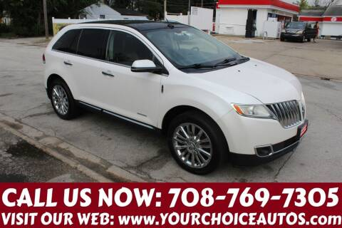 2012 Lincoln MKX for sale at Your Choice Autos in Posen IL