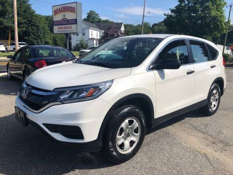 2016 Honda CR-V for sale at Beachside Motors, Inc. in Ludlow MA