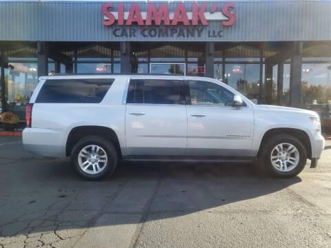 2017 Chevrolet Suburban for sale at Siamak's Car Company llc in Salem OR