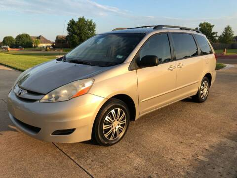 2006 Toyota Sienna for sale at BLANCHARD AUTO SALES in Shreveport LA