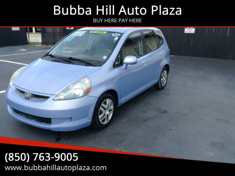 2008 Honda Fit for sale at Bubba Hill Auto Plaza in Panama City FL