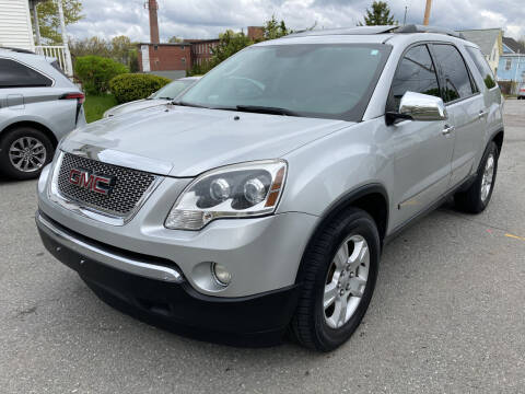 2010 GMC Acadia for sale at D'Ambroise Auto Sales in Lowell MA