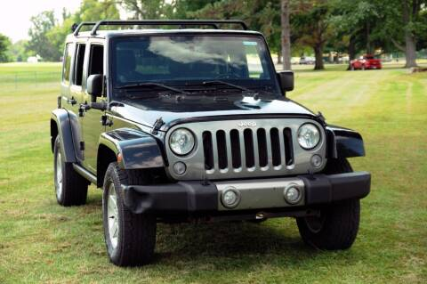 2014 Jeep Wrangler Unlimited for sale at Auto House Superstore in Terre Haute IN
