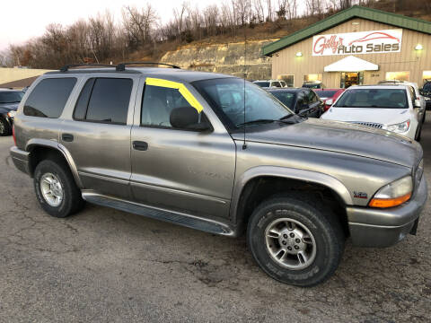2000 Dodge Durango for sale at Gilly's Auto Sales in Rochester MN